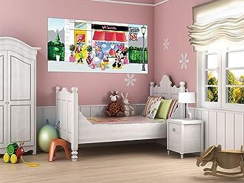 Ag Minnie Poster Geant Horizontal Papier Peint 202x90 Cm Decoration