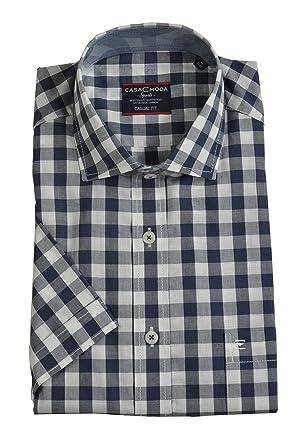 f5bce9b8a8 Casa Moda - Casual Fit - Herren Freizeit 1/2-Arm-Hemd in Verschiedenen  Farben mit Kent-Kragen (983074600): Amazon.de: Bekleidung