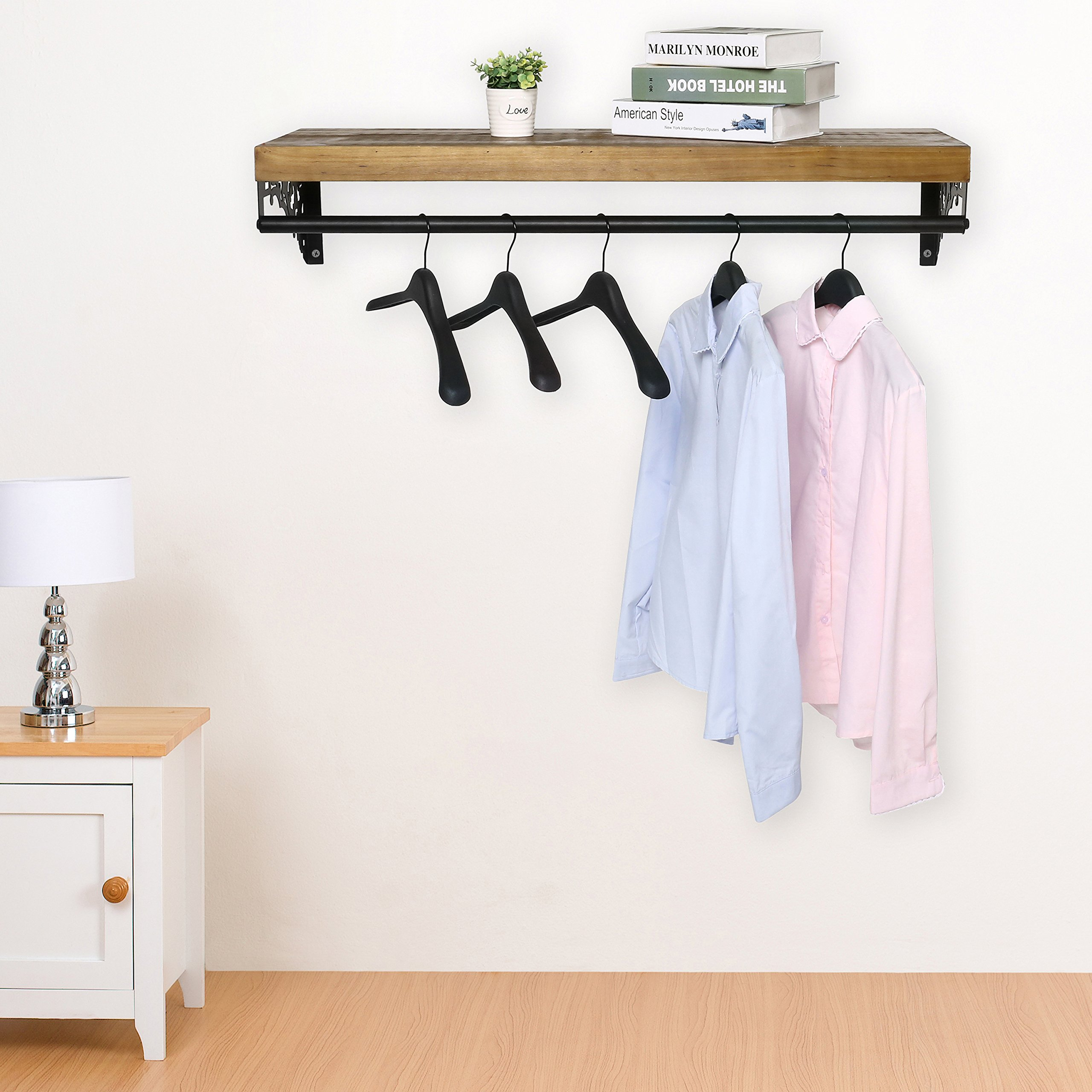 expanding from racks clothes duo garment rack box metal storage