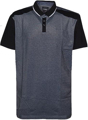 Herren Big Größe 's Plain Polo Shirt Short Sleeve Größe 's bis zu 5 x l 6 x  l: Amazon.de: Bekleidung