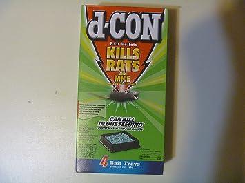 D-Con Pellets 4/3.0 Oz