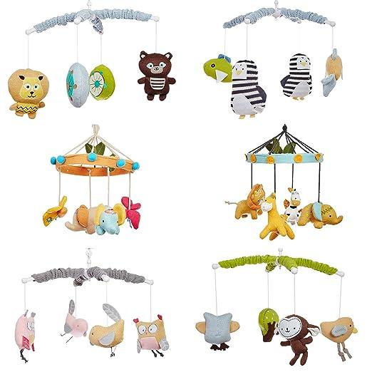 Smilebaby Musik Mobile Babybett Spieluhr Verschiedene Tiermotive