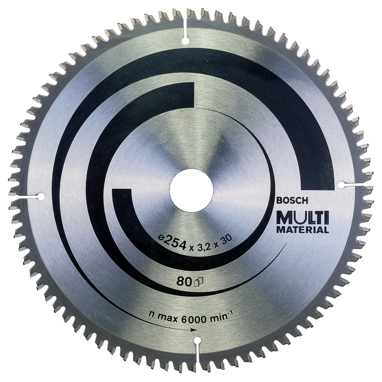 f/ür Multi Material, Au/ßen/Ø: 254mm, Bohrung: 30mm, Zubeh/ör f/ür Kapp-, Tischkreiss/ägen Bosch Professional Kreiss/ägeblatt