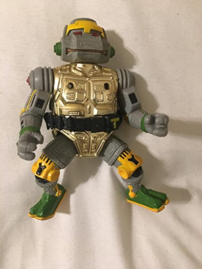 1989 Original *** Metalhead With Belt *** Teenage Mutant Ninja Turtles Tmnt Spielzeug Film, Tv & Videospiele