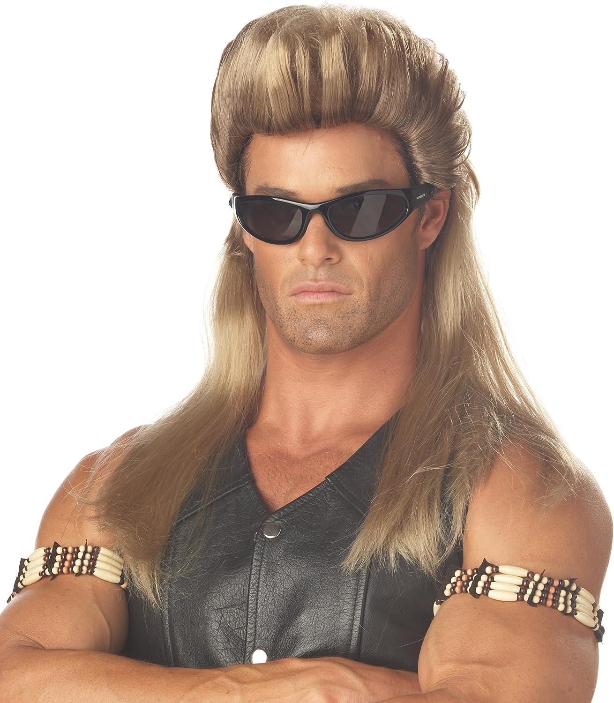 California Costumes 80s Blonde Rock Mullet Wig