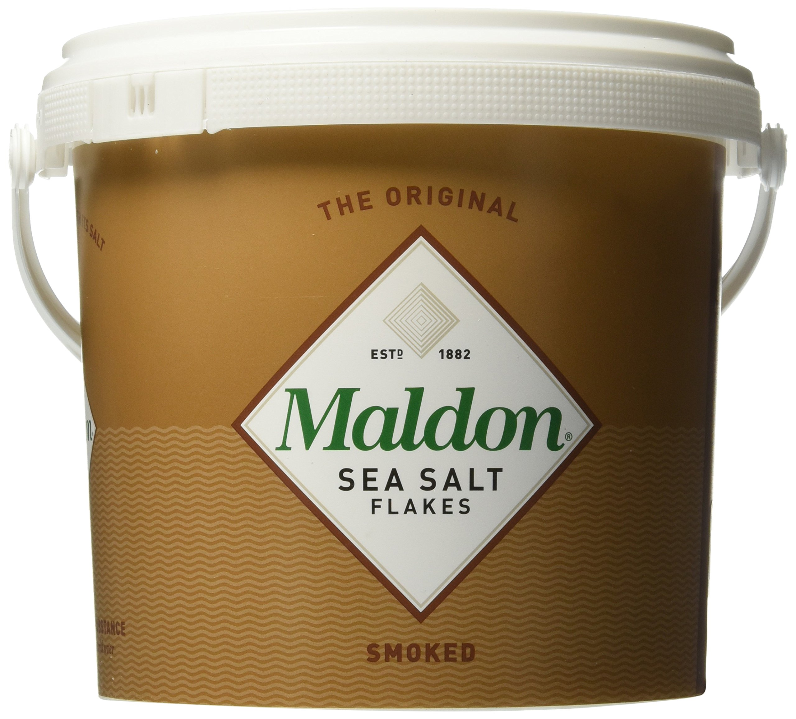 Maldon Smoked Sea Salt, 3.3 lb Tub