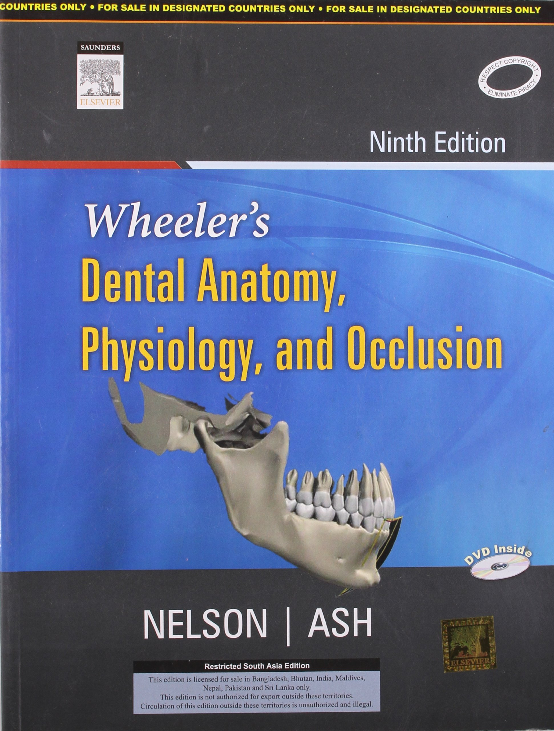 Buy Wheelers Dental Anatomy Physiology And Occlusion Old Edition