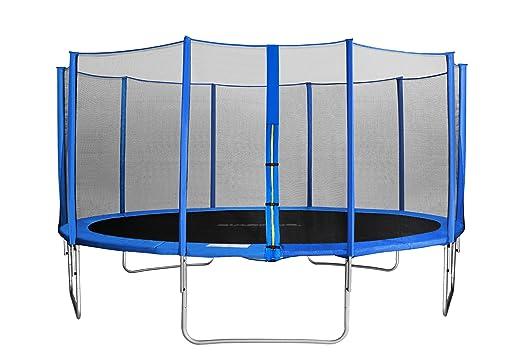 751 opinioni per SixBros. SixJump 4,60 M Trampolino per il Giardino blu esaminato da Intertek/GS-