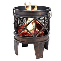 Feuerkorb Tepro Antik kupfer klein ✔ rund