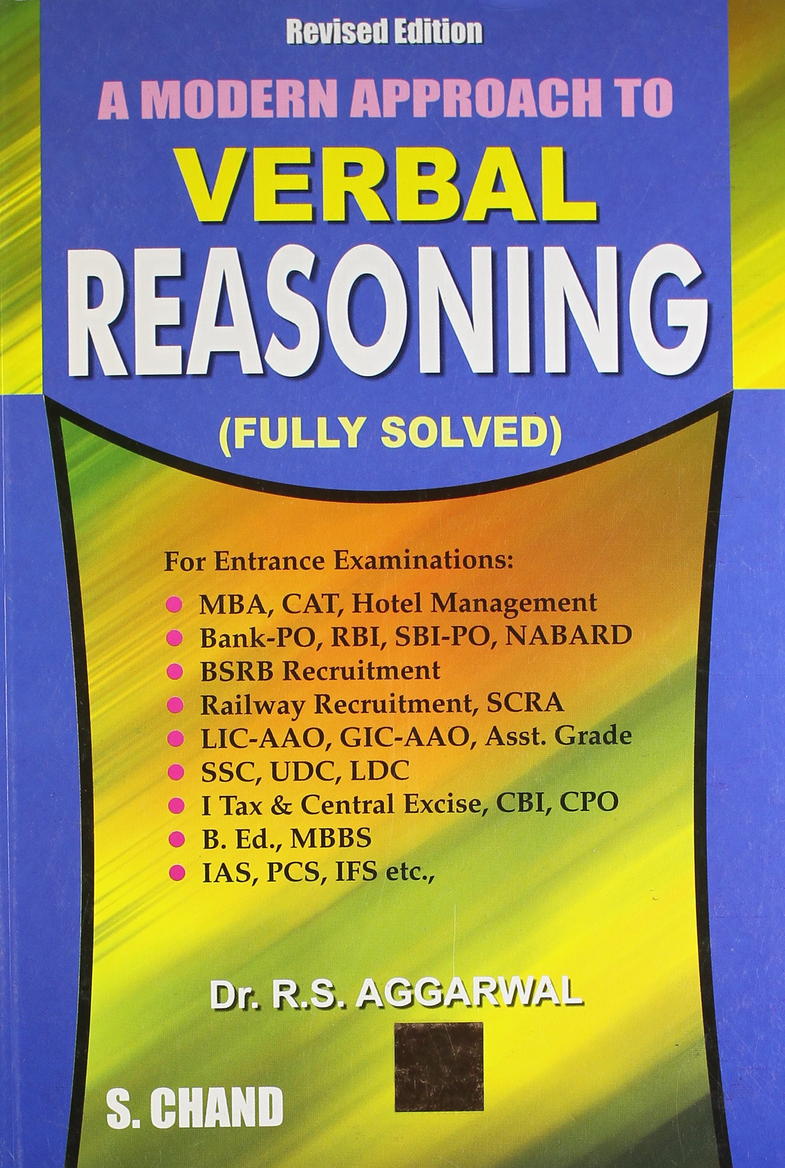 Non Verbal Reasoning Book By Rs Agarwal