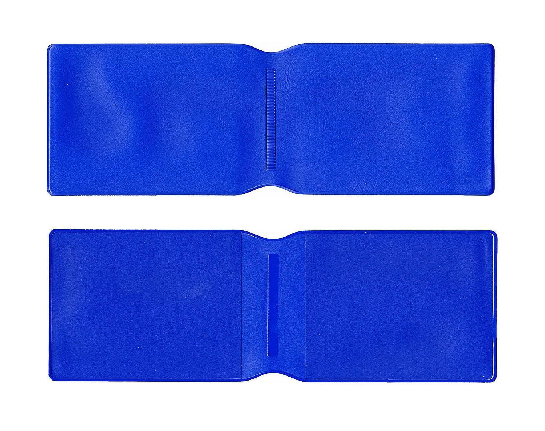 1 x Color Azul Plástico Tarjeta Oyster Tipo Cartera/Cartera de Tarjeta de Titular de la Tarjeta de Crédito/ID/Tarjetero/Travel Pass Funda - Fabricado en el ...