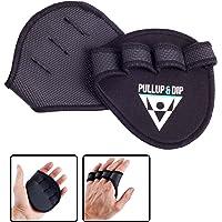 PULLUP & DIP grip pads pour pull-ups fitness musculation du culturisme 1 paire de en néoprène d entraînement comme alternative aux gants de fitness une prise maximale