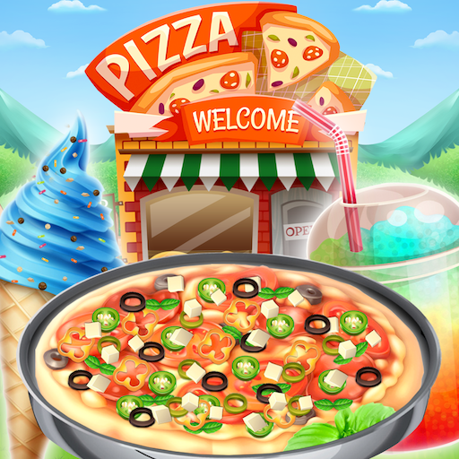 Unlimited Pizza Shop - Make your own deliciousUnlimited  pizza with this fun pizza game! FREE game - Yummy Pizza Shop -