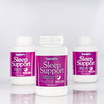 All Natural Sleep Support Supplement with Low Dose Melatonin & Magnesium | Made in the USA