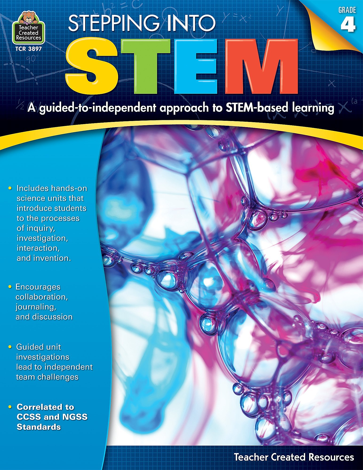 Read Online Stepping Into STEM Grade 4 PDF