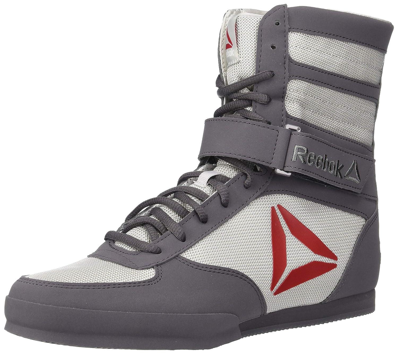 [リーボック] Boxing Boot – Buck靴 – メンズ Gre/ Buck - Ash グレー/Skull グレー/Excellent 赤/白い 8.5 D(M) US