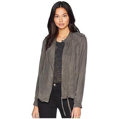 [BLANKNYC] Blank NYC Cupro Pay Stub Jacket (MD) at Women's Coats Shop