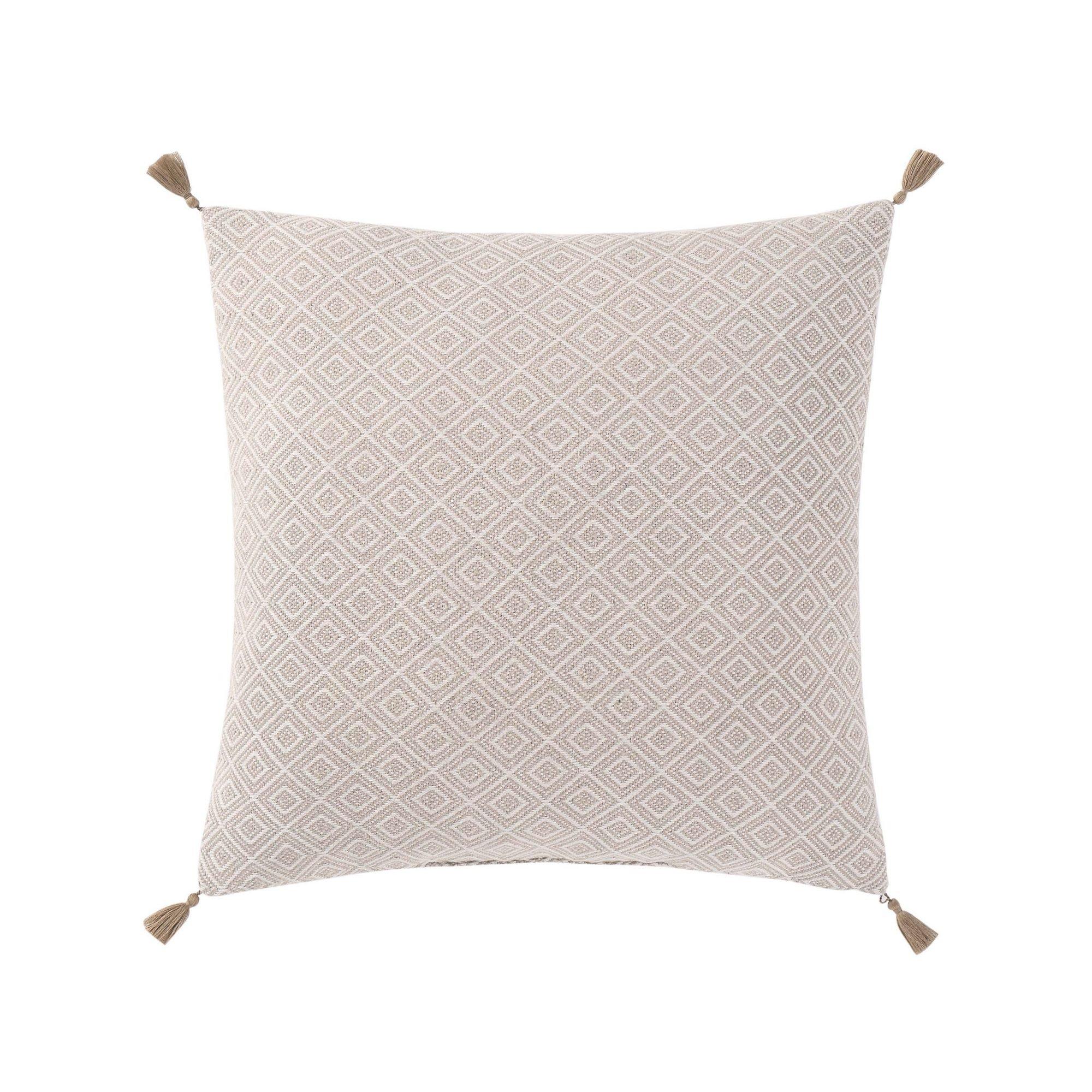 Oceanfront Resort CF2364NTDP-1400 Decorative Pillow, White/Gray