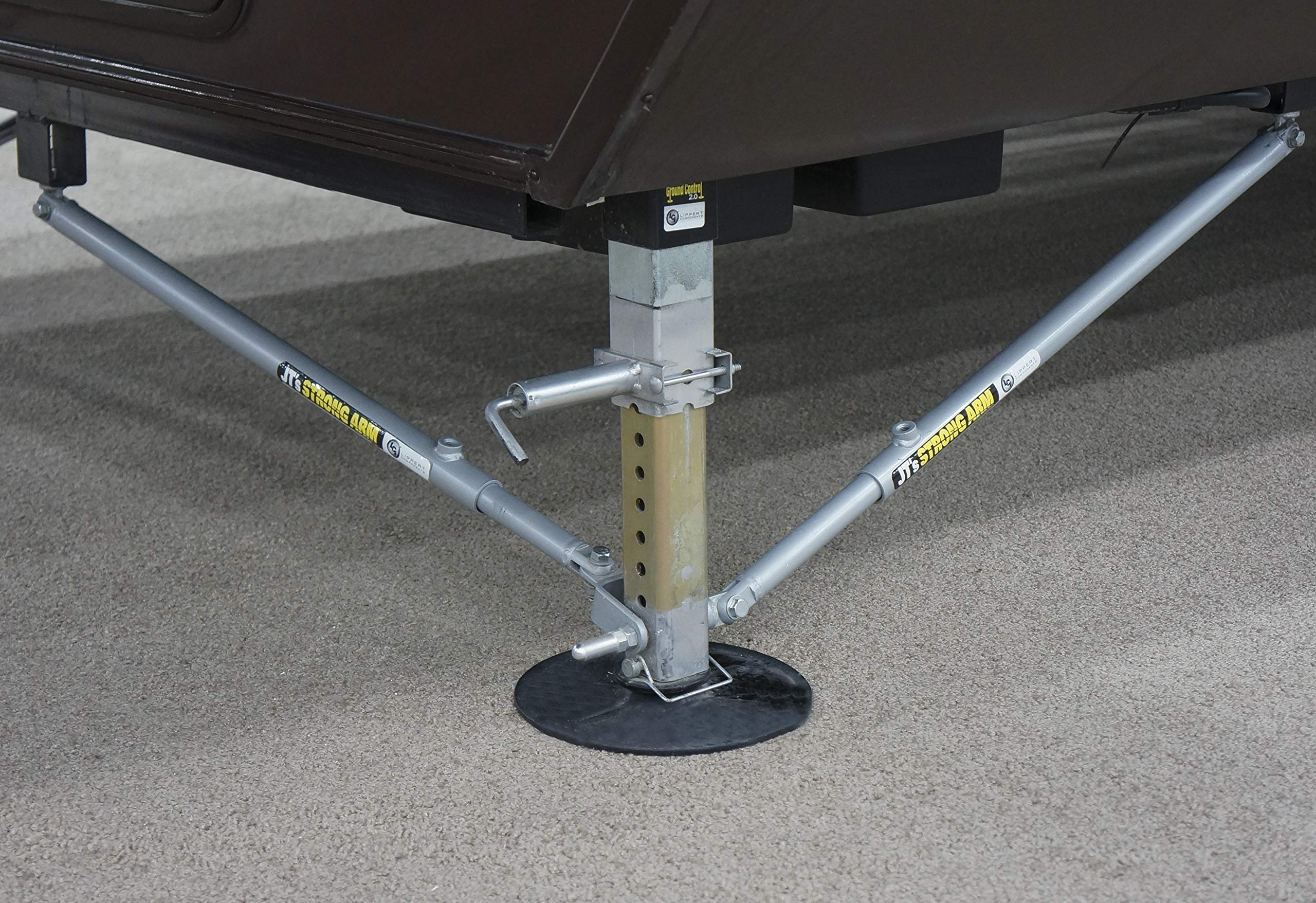 Lippert 191023 JT's Strong Arm Fifth-Wheel Jack Stabilizer Kit by Lippert Components (LIPPC) (Image #9)