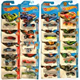 HOTWHEELS Cars Collection Of 20 Futuristic Models - Multi Color