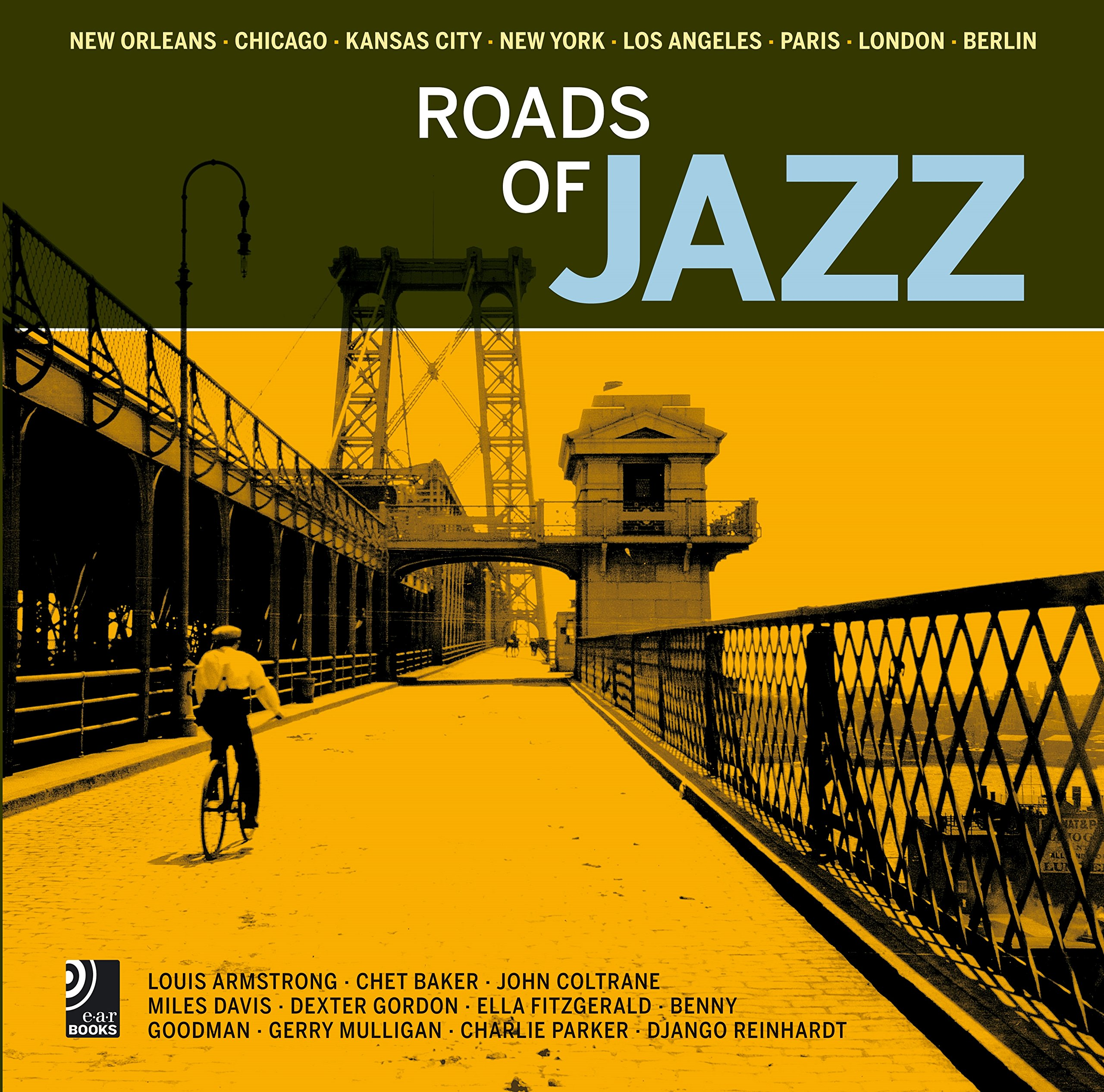 Roads of Jazz (Fotobildband inkl. 6 Musik-CDs)
