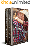 Sunset Plains Collection: Cupcakes and Cowboys, Twisters and Textbooks (Sunset Plains Romance)