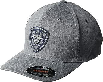 ARIAT Men's Tonal Shadow Shield Fabric Back Flex Cap