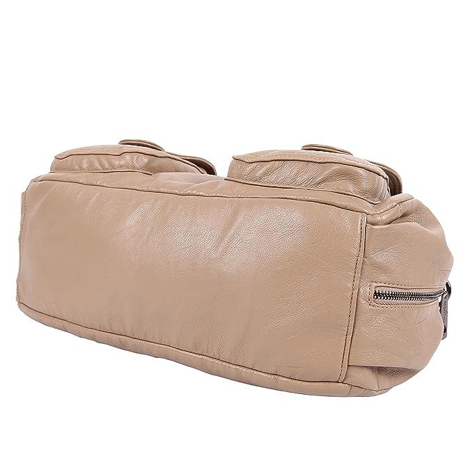 Amazon.com: Angelkiss - Bolsas de hombro para mujer (piel ...