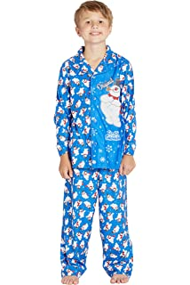 091ff3120192 Amazon.com  Frosty the Snowman Christmas Holiday Family Sleepwear ...