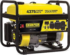 Champion Power Equipment 100555 3500-Watt RV Ready Portable Generator, CARB
