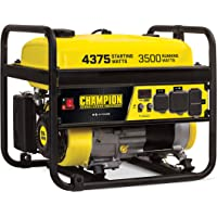 $293 » Champion Power Equipment 100555 RV Ready Portable Generator, Yellow and Black