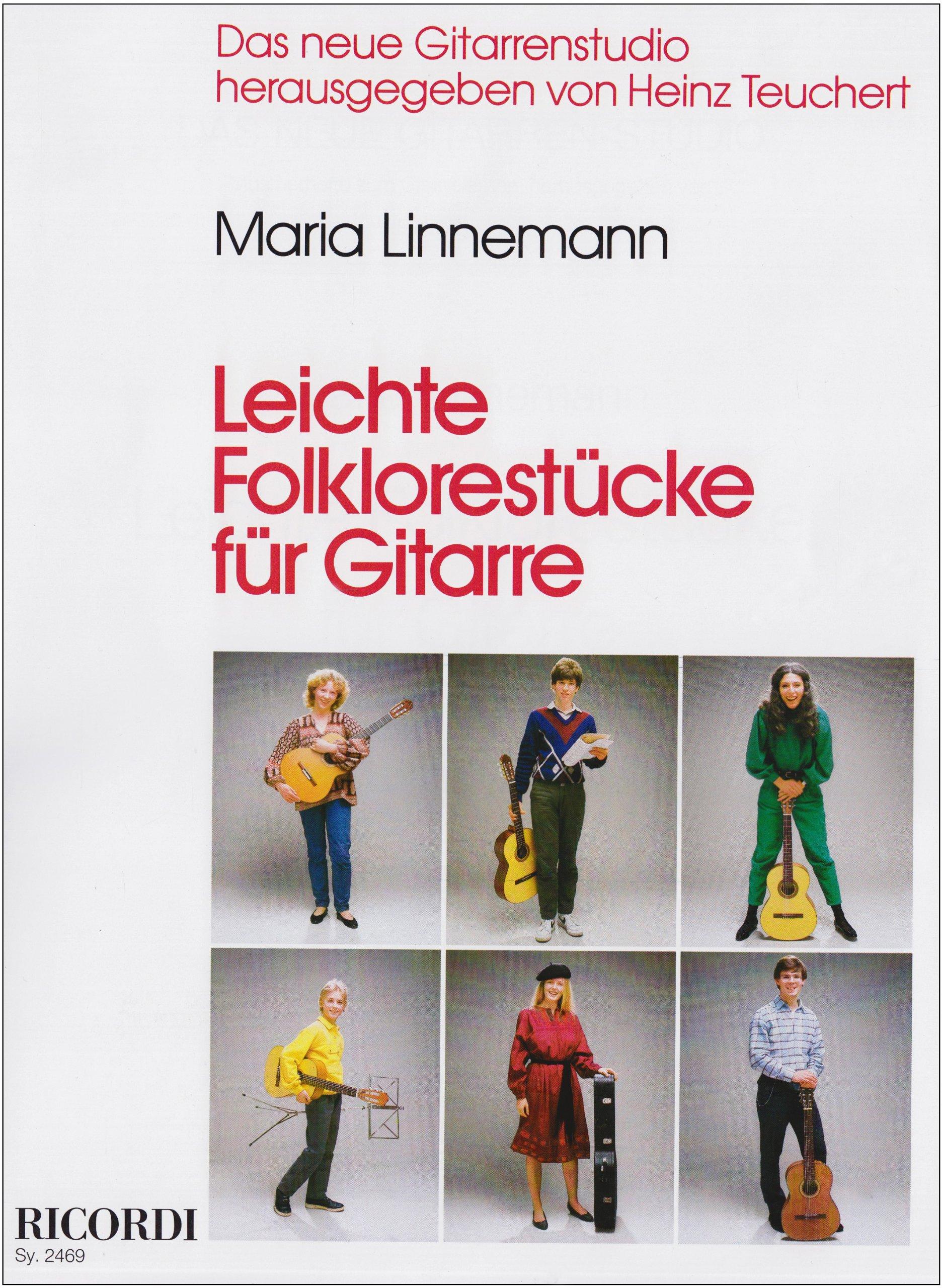 Leichte Folklorestücke: Das neue Gitarrenstudio