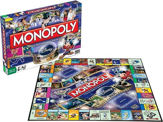 Parker Hasbro 196431010 Monopoly Disney – Juego de Bandeja: Amazon.es: Juguetes y juegos
