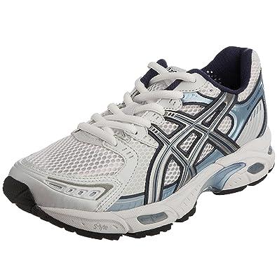 Asics Women s Gel-Evolution 5 Running Shoe White Lightning Frost Blue  T9A8N0193 6 2f9016ec09