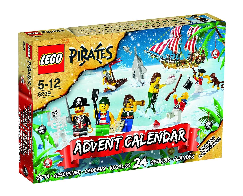 Advent Calendar Lego : Pirates advent calendar lego set ebay