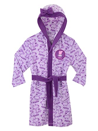 Peppa Pig Girls Dressing Gown Ages 18 Months to 8 Years: Amazon.co ...