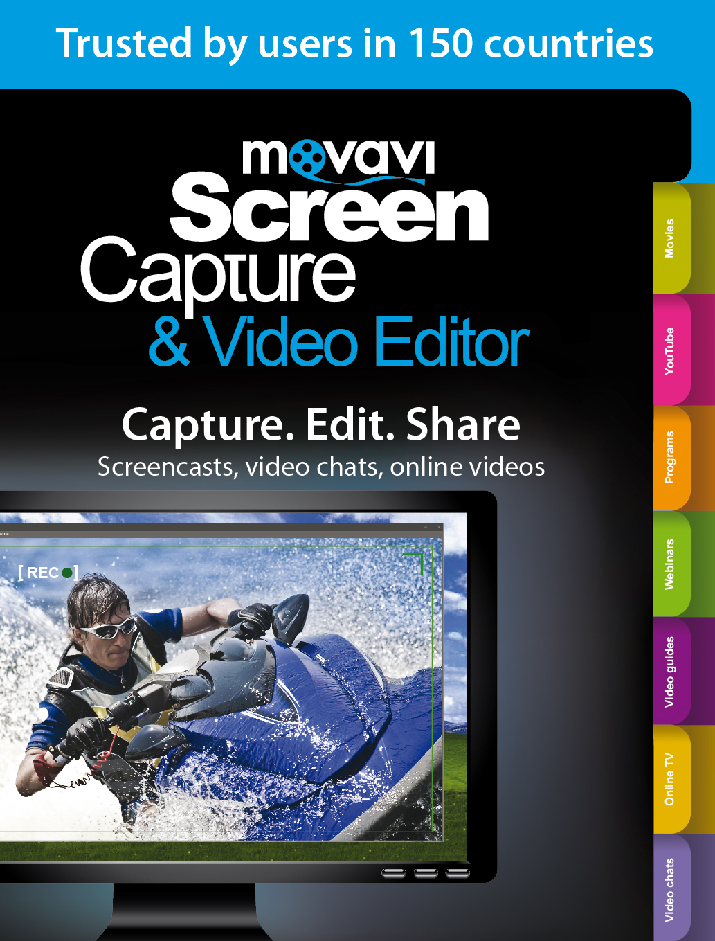 Movavi Screen Capture & Video Editor 8 Business Edition [Download] by Movavi