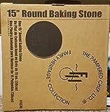 """pampered Chef 15"""" Round Baking Stone"""