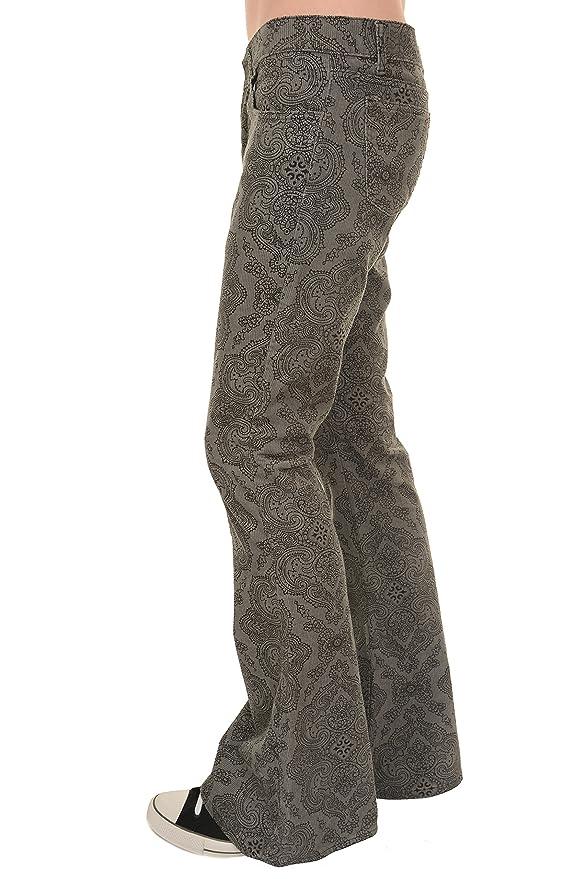 60s – 70s Mens Bell Bottom Jeans, Flares, Disco Pants Run & Fly Mens 60s 70s Retro Hendrix Silver Paisley Corduroy Retro Bell Bottom Flares $54.95 AT vintagedancer.com