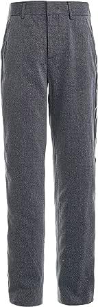 GULLIVER Pantalones para niño con rayas laterales, 11-14 años, 146-164 cm, color gris