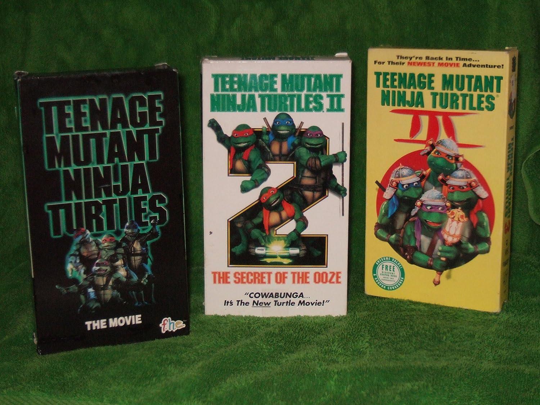 Amazon.com: Teenage Mutant Ninja Turtles TRILOGY: Teenage ...