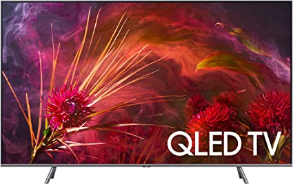 Amazon Com Samsung Qn65q8fn Flat 65 Qled 4k Uhd 8 Series Smart