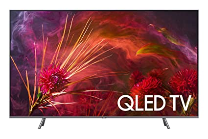 "93d3ed2d069 Amazon.com  Samsung QN65Q8FN FLAT 65"" QLED 4K UHD 8 Series Smart TV ..."