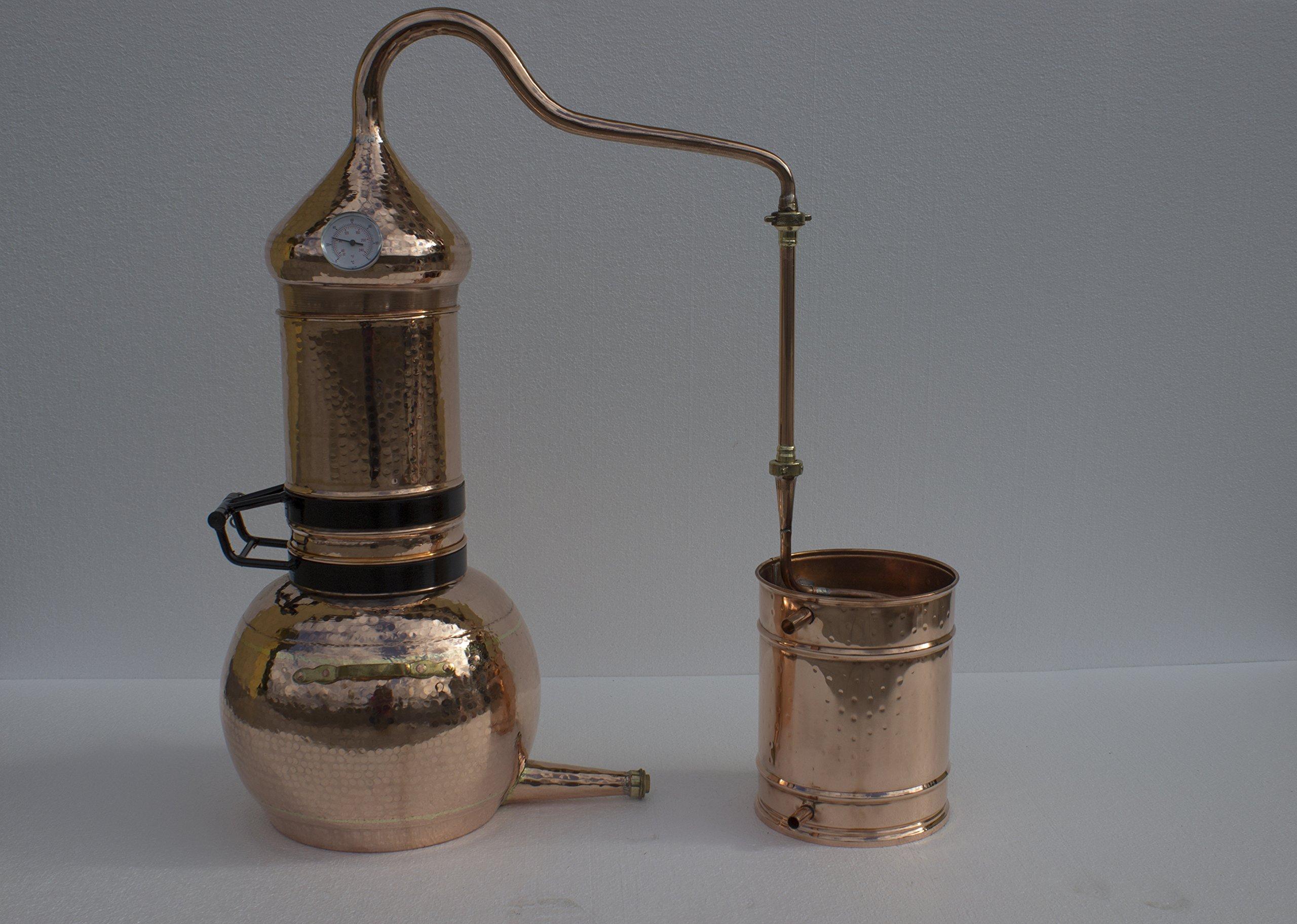 Flip Top Alembic Still (Copper, 20 Liter)