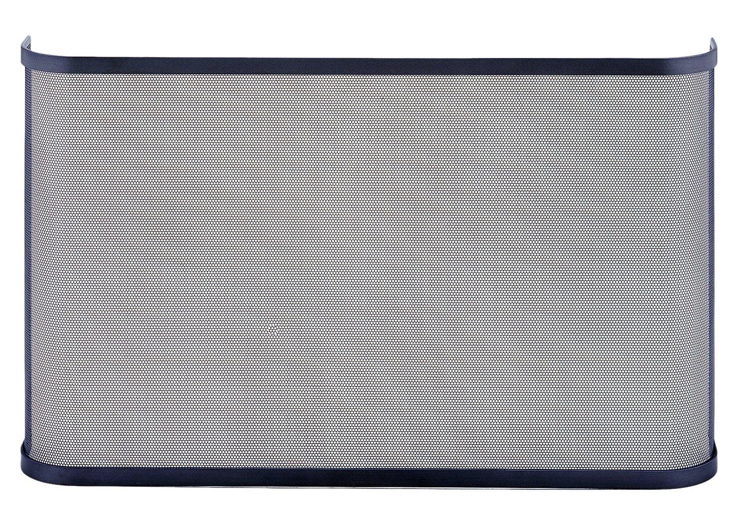 LES ATELIERS DIXNEUF 003.7085 Pare-jeu acier 1 volet MANTILLE Gris Hauteur 60 cm//Longueur 100 cm