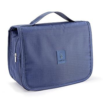 2b60c27db PINACOLOR Neceser de Viaje para Colgar tamaño Mediano 3,5 litros | Material  Impermeable con Gancho de Metal y Cremalleras robustas (Azul): Amazon.es:  ...