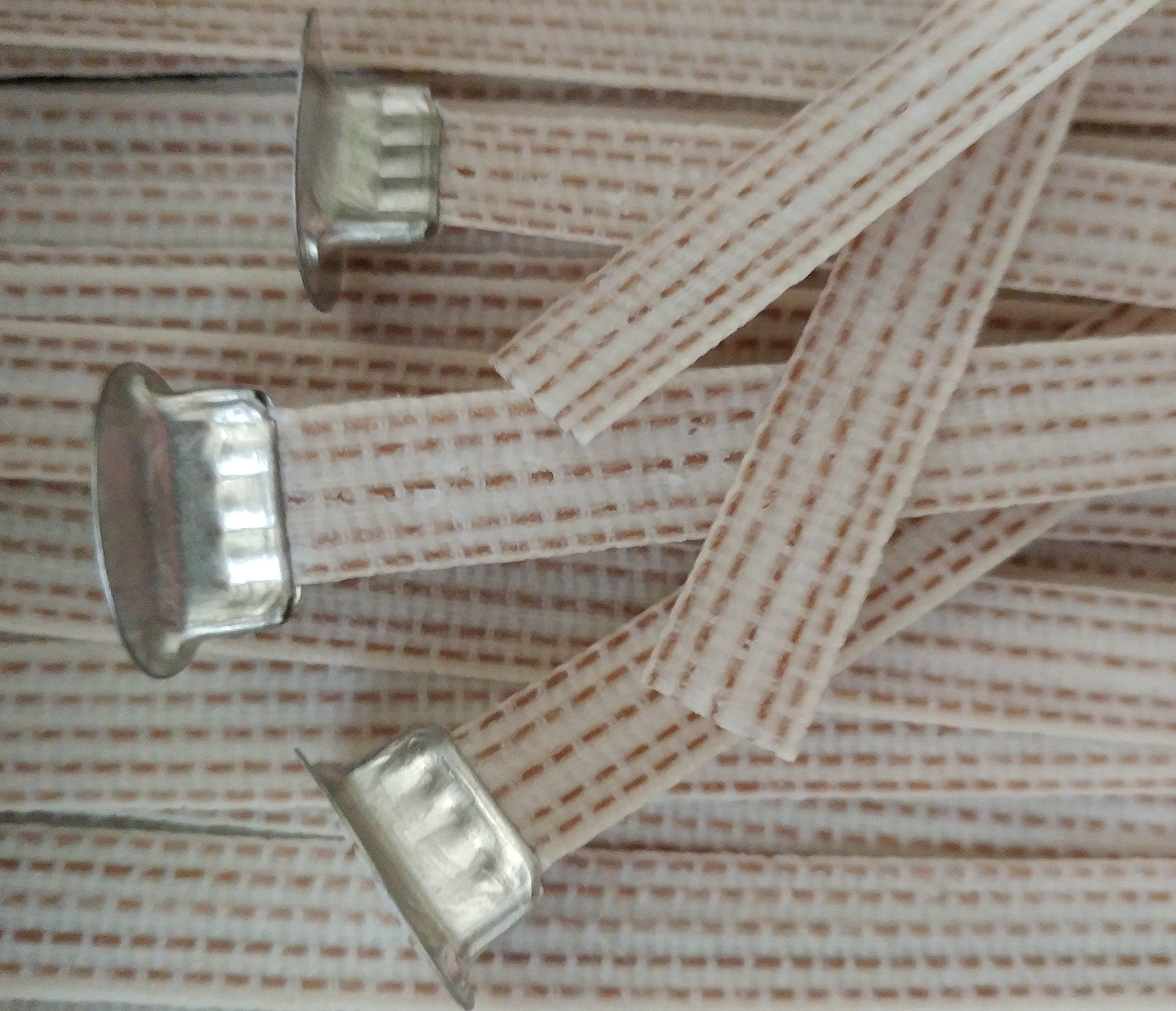 Ribbon Candle Wicks - 10pk - Cotton Candle Wicks - Wholesale Candle Wicks & Supplies (Medium)