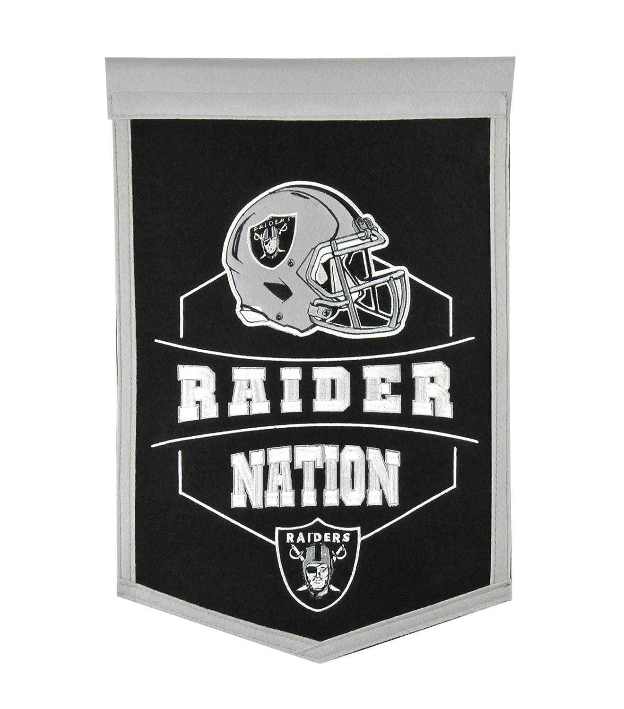 Winning Streak Sports Oakland Raiders Traditions Banner
