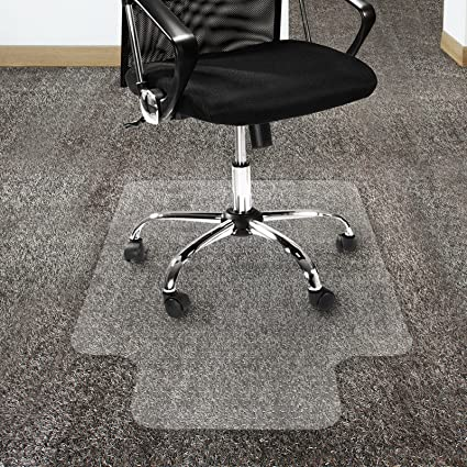 Charmant Office Marshal Polycarbonate Chair Mat With Lip For High Pile Carpet  Floors, 36u0026quot; X