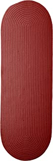 product image for Colonial Mills Boca Raton Runner Rug 2x11 Sangria